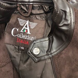 official photos 05e8f 5245b COLLEZIONE ITALIA 🇮🇹 men's leather jacket Boutique